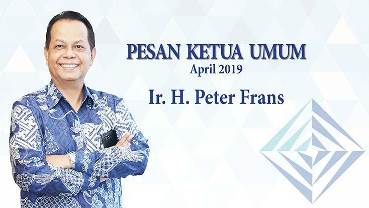 Pesan Ketua Umum INKINDO - Ir. H. Peter Frans