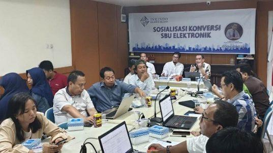 Inkindo Sulsel Gelar Sosialisasi Konversi SBU Elektronik